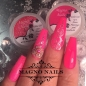 Preview: UV Gel - 1412 - Farb Gel Neon Flamingo