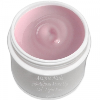 UV Gel - 218 - Aufbau Make Up Gel - Light Rose