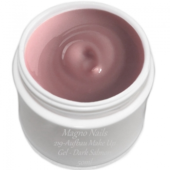UV Gel - 219 - Aufbau Make Up Gel Dark Salmon