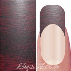 Nail Art Transfer Folie 0,45m - Nail Foil - Red Wood