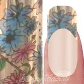 Nail Art Transfer Folie 0,45m - Nail Foil - Beauty Floral