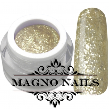UV Gel - 1506 - Chrome Shine Gel - Gold Sparkle