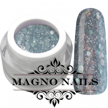 UV Gel - 1069 - Glitter Gel - Fashion Grey