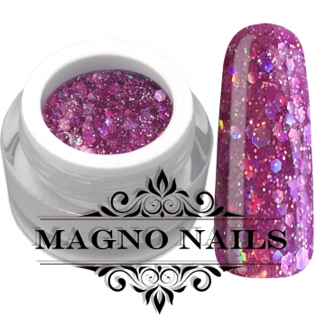 UV Gel - 1049 - Glitter Gel - Fashion Pink