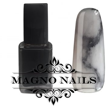 Nail Art  INC Color - INK Farbe black  - 12ml