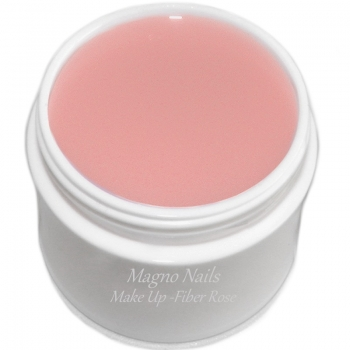 UV Gel - 228 - Aufbau Make Up Gel - Fiber Rose