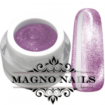 UV Gel - Platinium Cat Eye - Soft Plum
