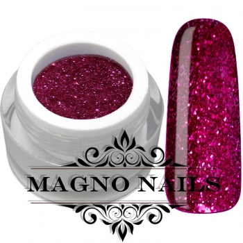 UV Gel - 1062 - Glitter Gel - Red Princess