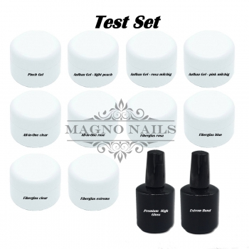 Deluxe Test Set  - UV Gele - 12 Teilig