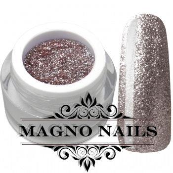 UV Gel - 1907 - Chrome Glitter Glam Gel - Texas Rose