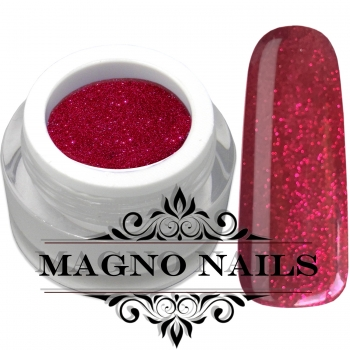 UV Gel - 864 - Glitter Gel Diamond Red