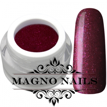 UV Gel - 865 - Glitter Gel Wine Red