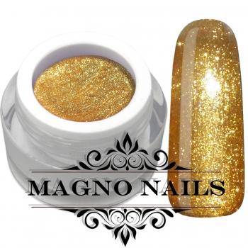 UV Gel - 874 - Glitter Gel Lux Gold