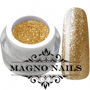 UV Gel - 1915 - Chrome Glitter Glam Gel - Gold Rush