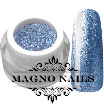 UV Gel - 1917 - Chrome Glitter Glam Gel - Crystal Blue