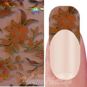 Nail Art Transfer Folie 1,5m - Nail Foil -  Wonder Flower