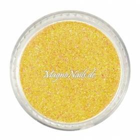 Nail Art Glitterpuder gelb-orange fein