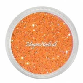 Nail Art Multi Glitter - orange fein