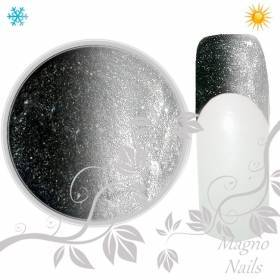 Thermo UV Gel - 308 - Glitter Gel Black Pearl