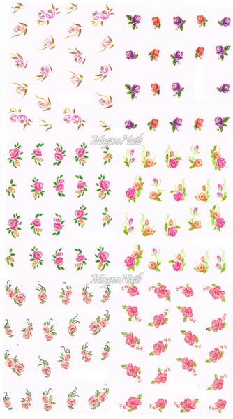 2D Nail Art Sticker