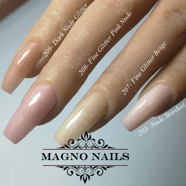 UV Gel - 203 - Make Up Gel - Nude Stardust