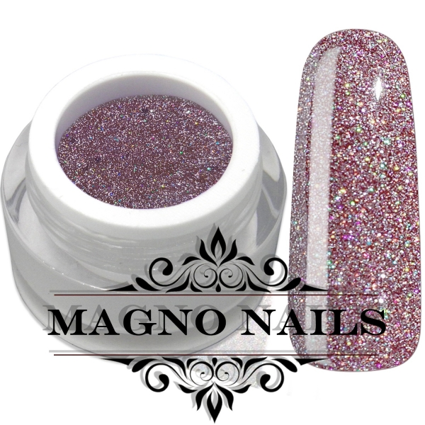 UV Gel - 4401 - Disco Glam Gel - Luxury Pink