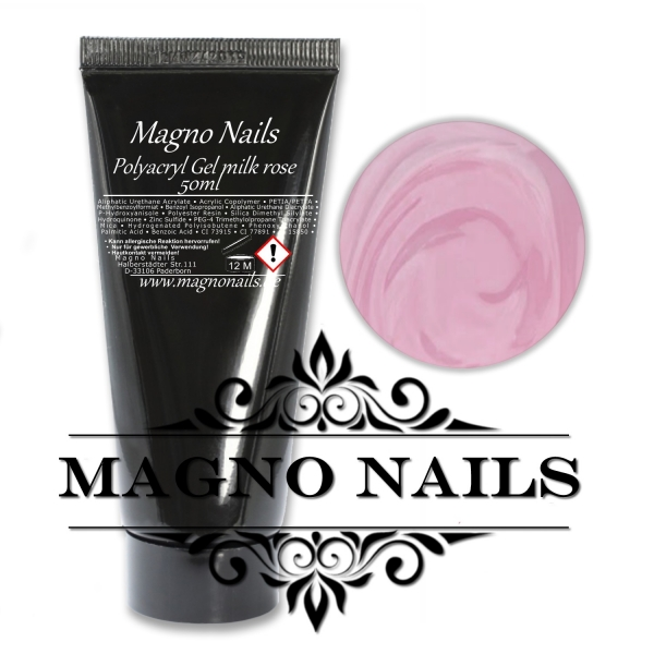 Professional Polyacryl Gel - milk rose