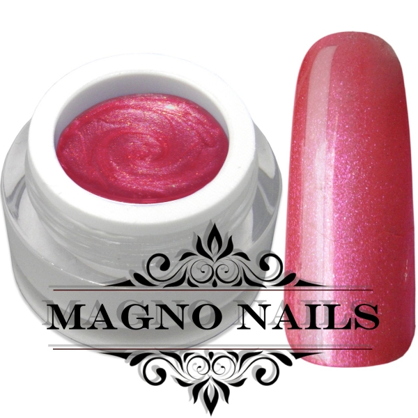 UV Gel - 727 -  Pearl Gel Cerise Red