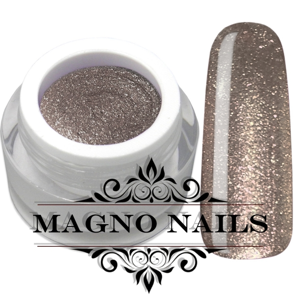 UV Gel - 1918 - Chrome Glitter Glam Gel - Champagne Shower