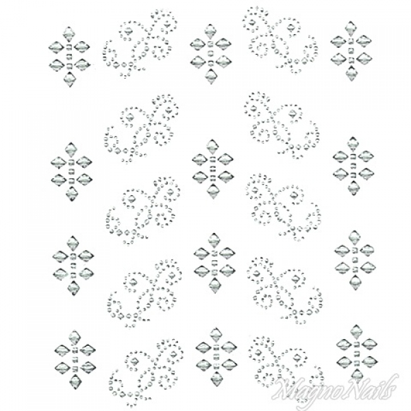 Crystal Nail Sticker - Bindis - crystal